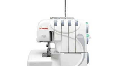 janome 9200d overlocker review