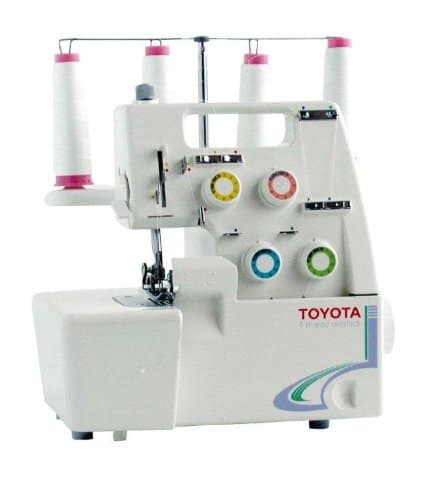 Example of Toyota Overlocker Serger Machine
